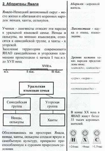 Анализ текста, схем