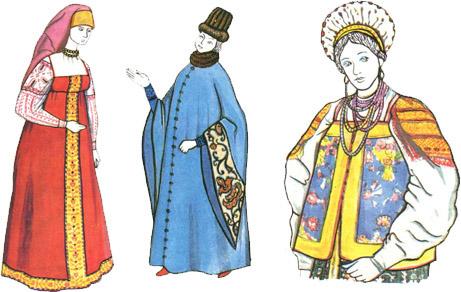 Женское платье 14 века на руси фото