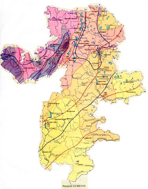 Карта жд дорог свердловской
