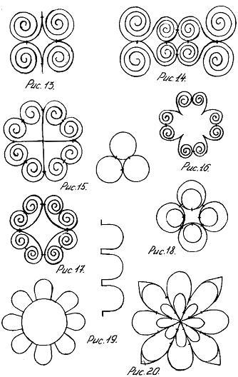 рисунки карандашом узоры: