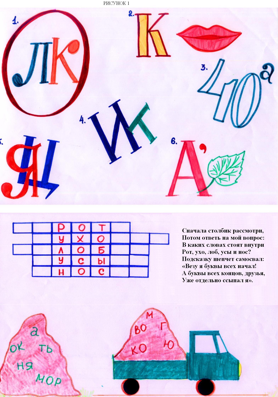 ребус по русскому языку 2 класс