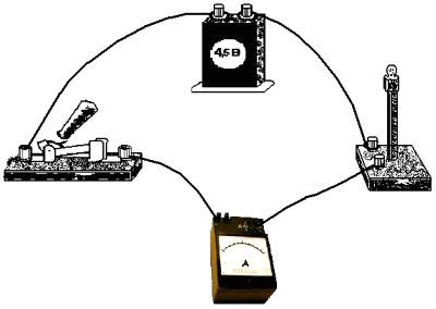Начертите схему электрической цепи.