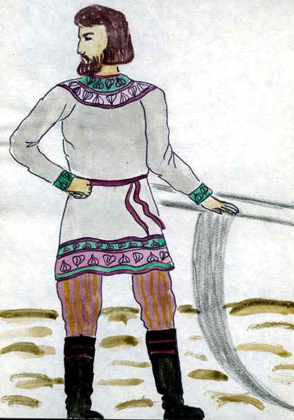 Детские рисунки крестьянина