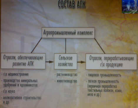 схему состава АПК.