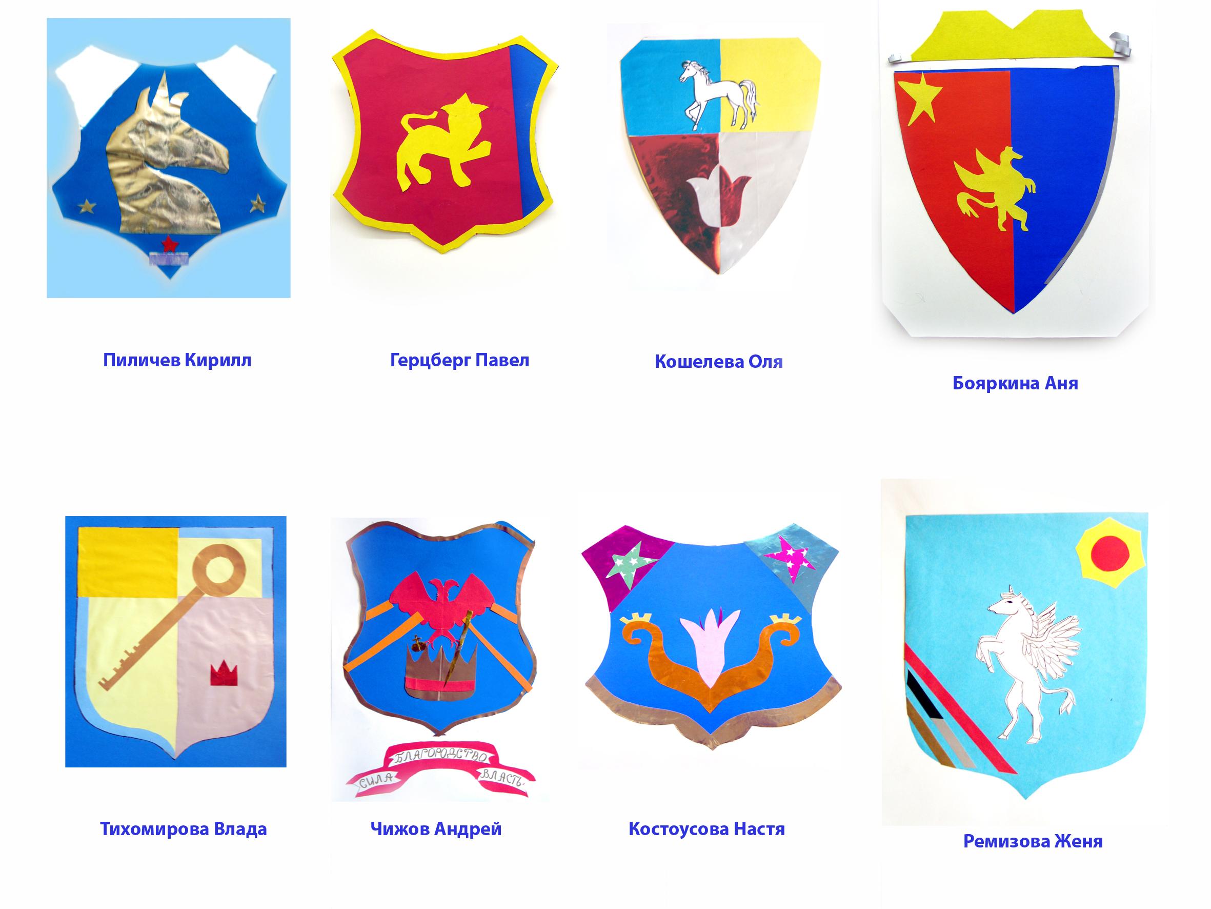 Гербы фото с названиями и описанием для детей