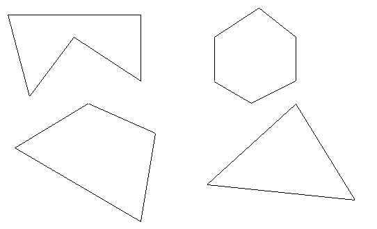 неправильные многоугольники рисунки