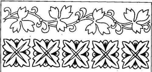 конспект урока растительный орнамент в полосе1 класс