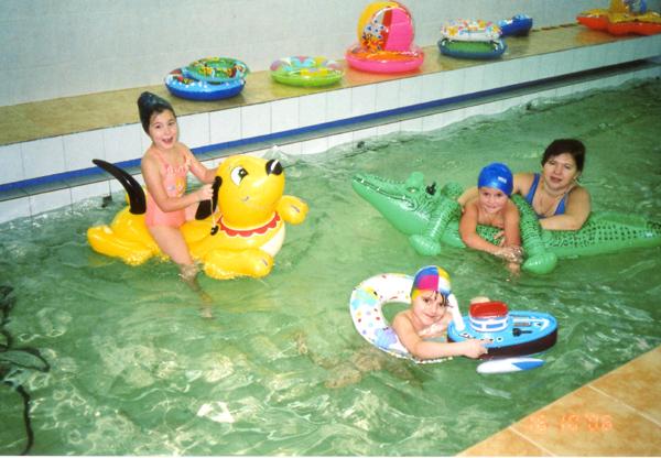 Нестандартное оборудование для бассейна