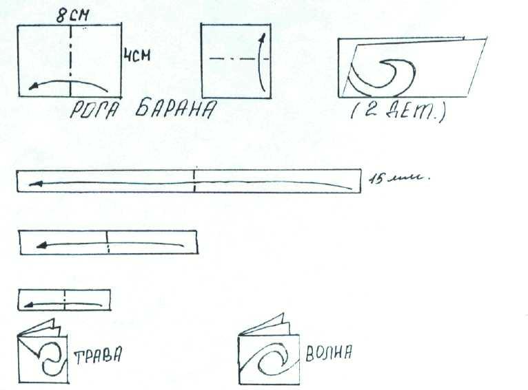 Как сделать юрту их бумаги