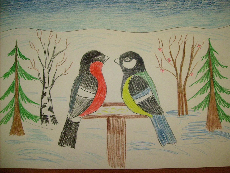 природа картинки рисунки для детей