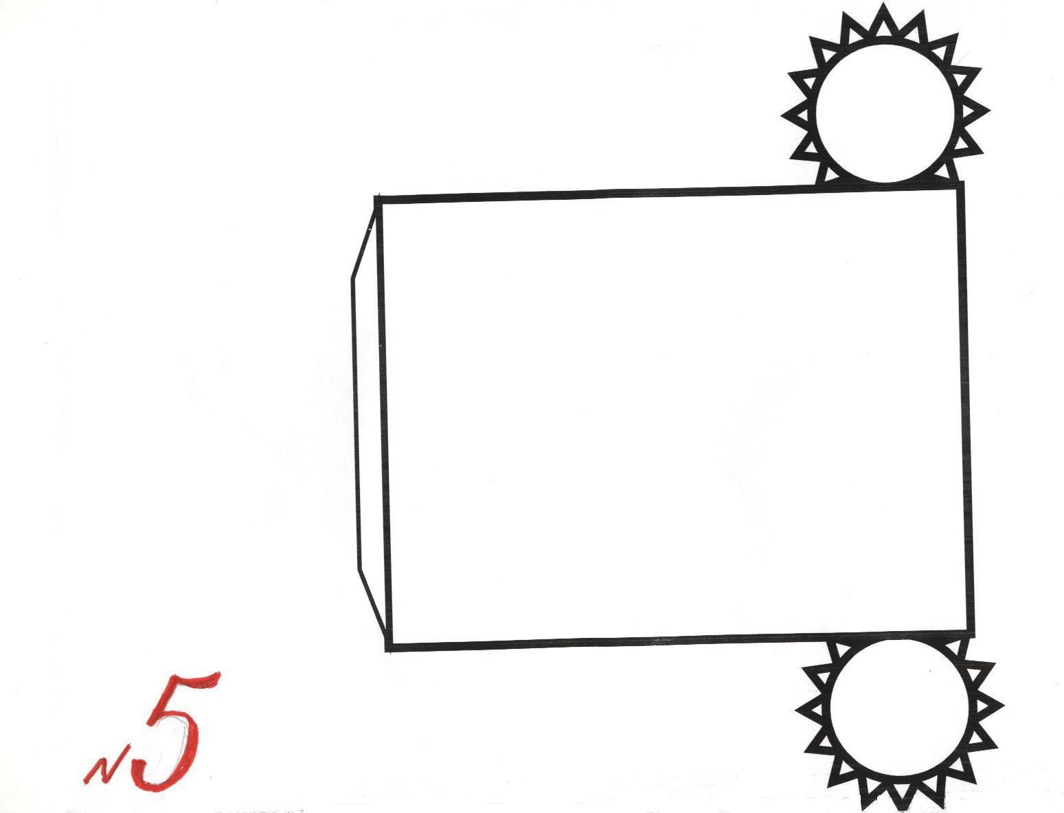 Цилиндр из бумаги схема