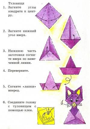Оригами для детей теория