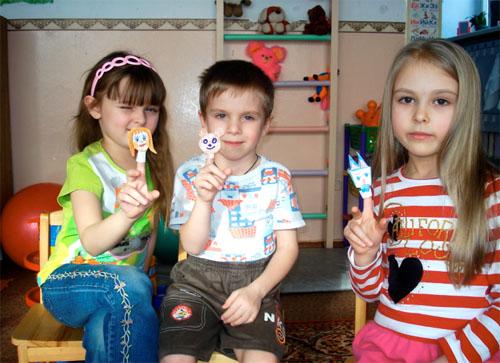 Фото как дети своими руками