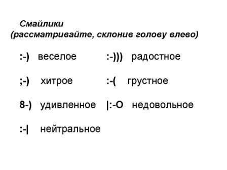 смайлики для презентаций: