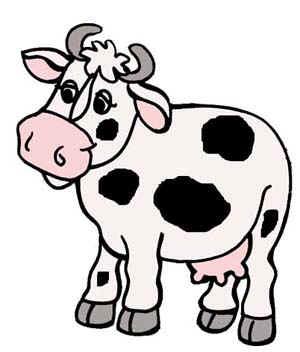 Рисунок коровы раскраска