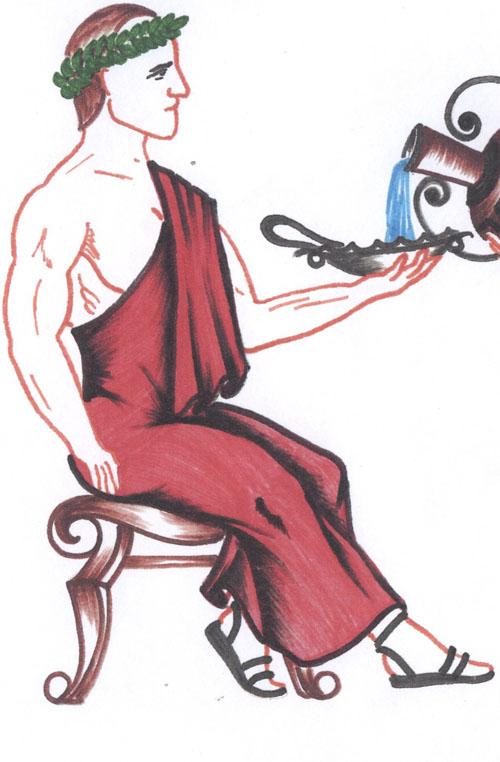 Одеяние строгое Звались одежды хитоном и тогою В тогах атласных те, кто...