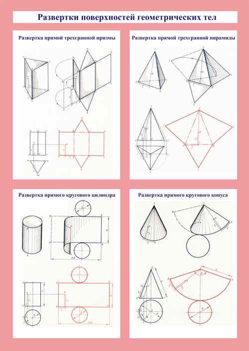 Призма как сделать из бумаги