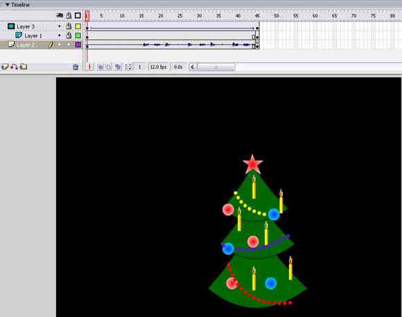 Создание и редактирование библиотечных образцов в macromedia flash