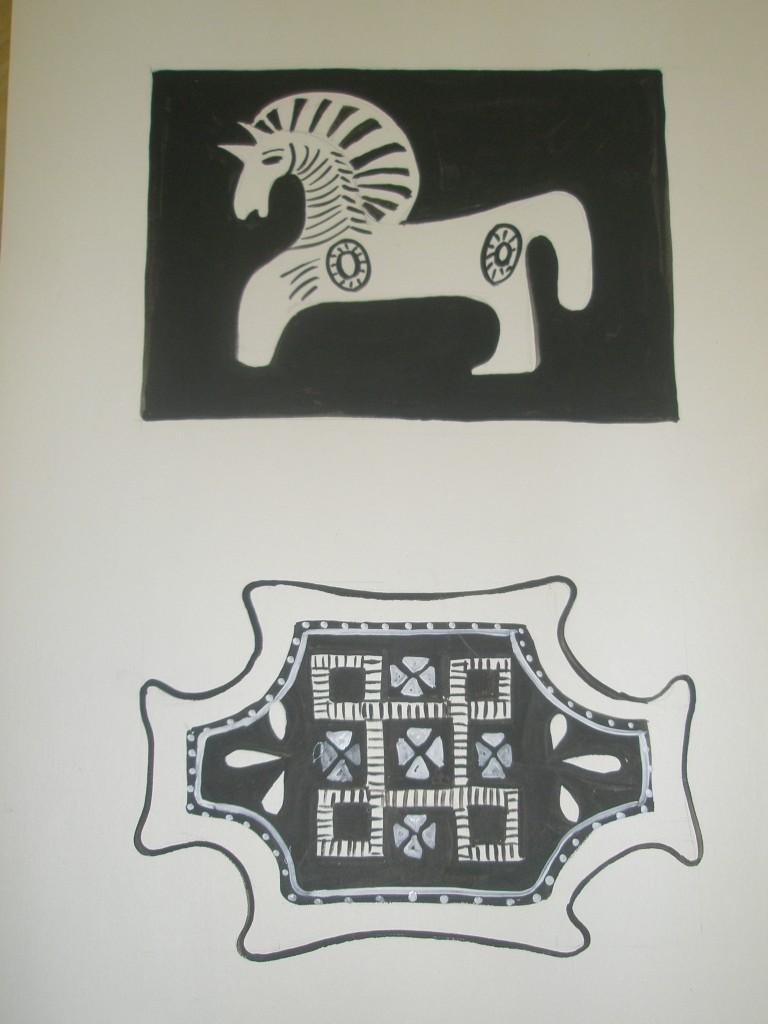 Саамская вышивка бисером