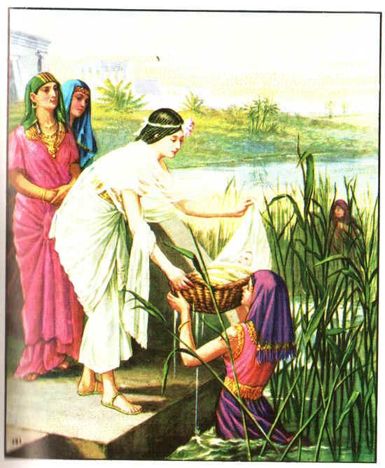 Моисей история жизни