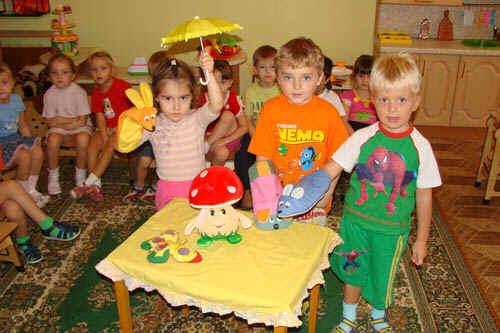 знакомство детей дошкольного возраста с театром