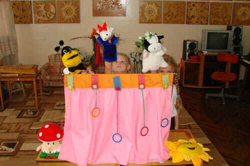 Театральные куклы своими руками для детского сада