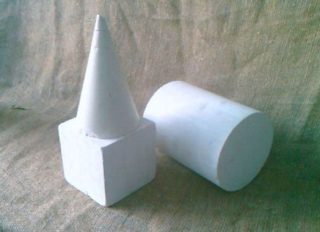 Куб, шар, цилиндр и конус (у двух последних тел