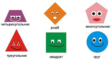 картинки фигуры геометрические