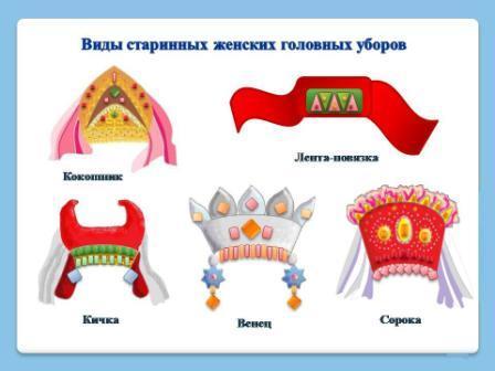 эскизы головных уборов: