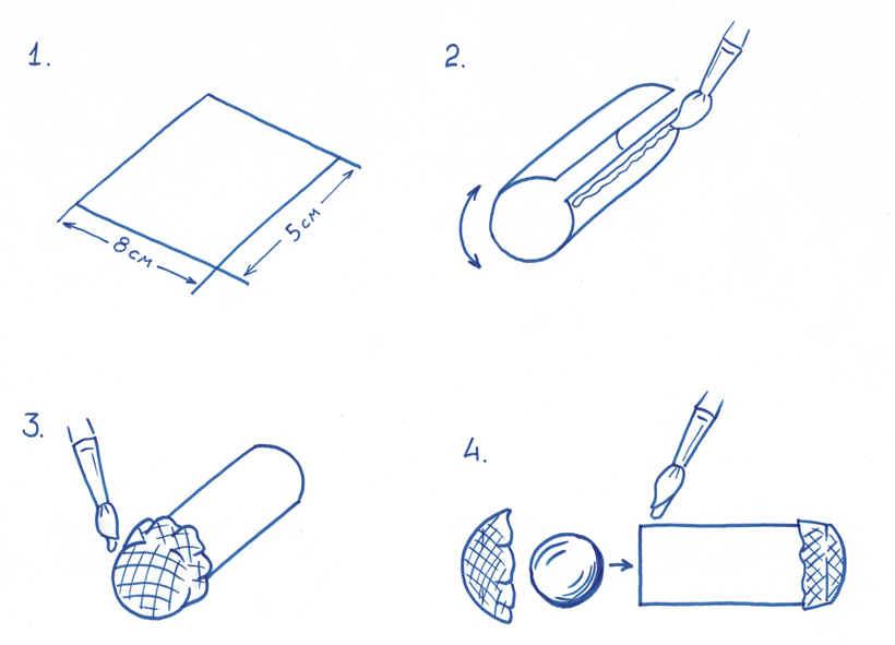 Как из бумаги сделать цилиндр 452