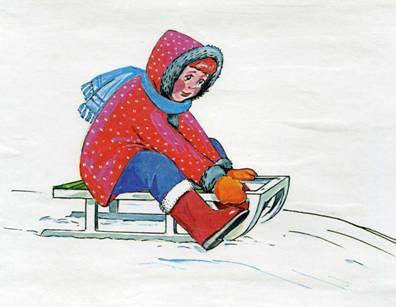 сочинение на тему на коньках прочитать