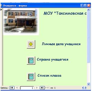 База данных ПЕДАГОГИЧЕСКИЙ СОСТАВ
