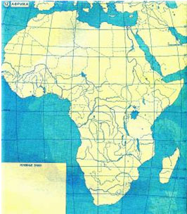 Контурная Карта Горы И Равнины