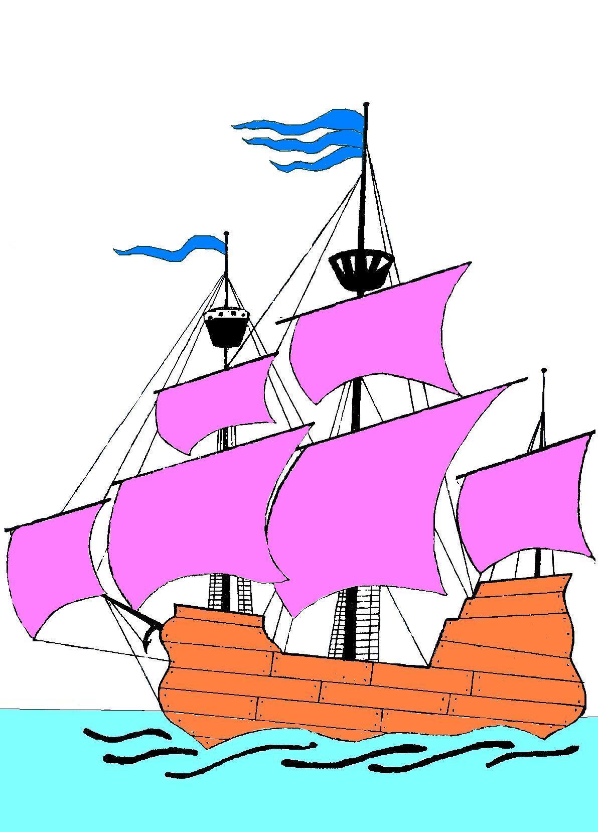 Корабль своими руками для оформления