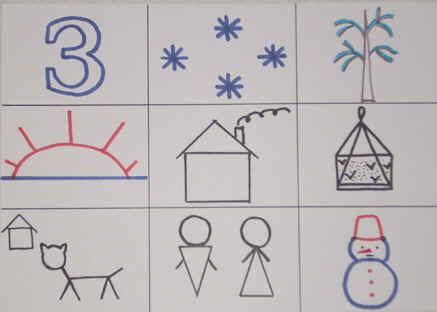 Составление рассказа о зиме