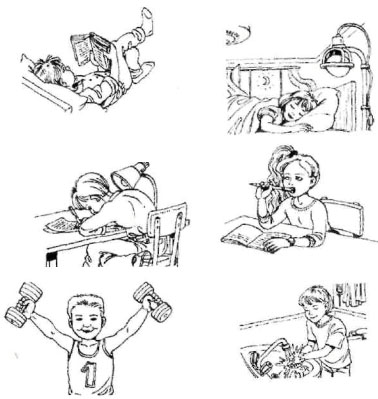Как нарисовать рисунок на тему здоровый образ жизни в