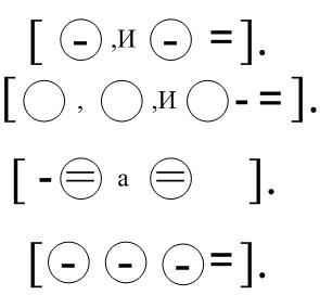 Составление схем предложений и предложений по схемам 3 класс.
