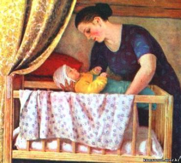 мать поет колыбельную картинки