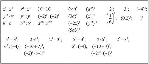 Решение задач с разными основаниями и степенями решение задач 5 класс повторение
