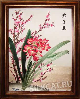 На вышивальное искусство японии