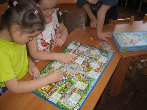 Настольные игры в детский сад