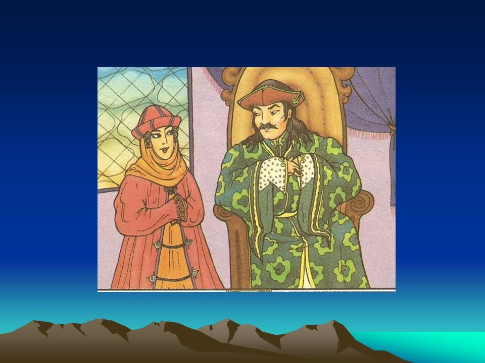 Картинка Киргизкая Сказка Дыйканбай