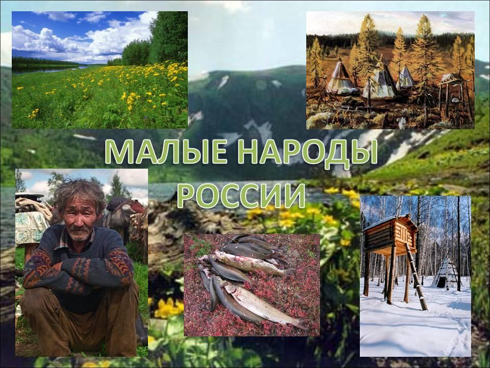 Реферат малые народы россии 9032