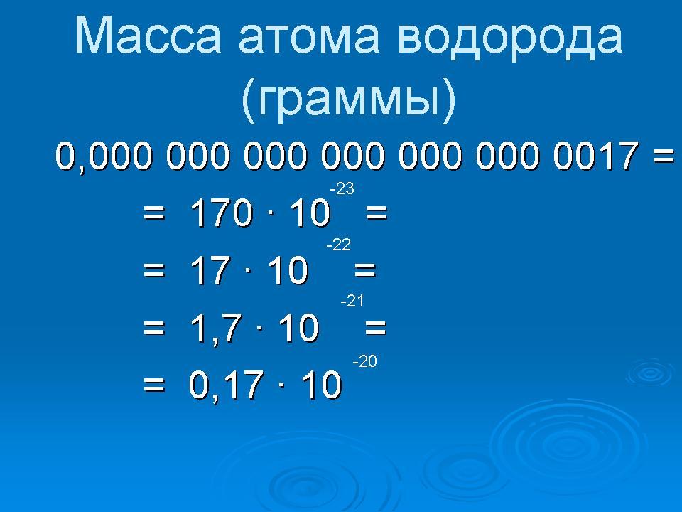 Стандартный вид числа доклад 2941