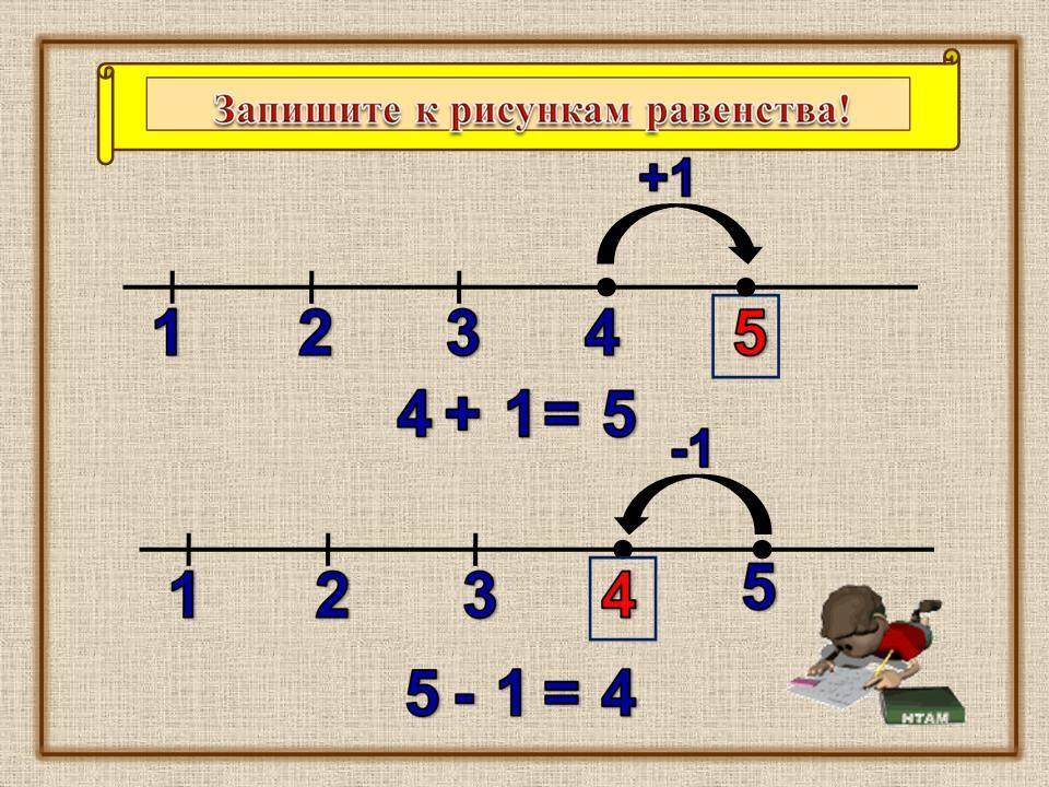 знакомство с числом и цифрой 5 1 класс