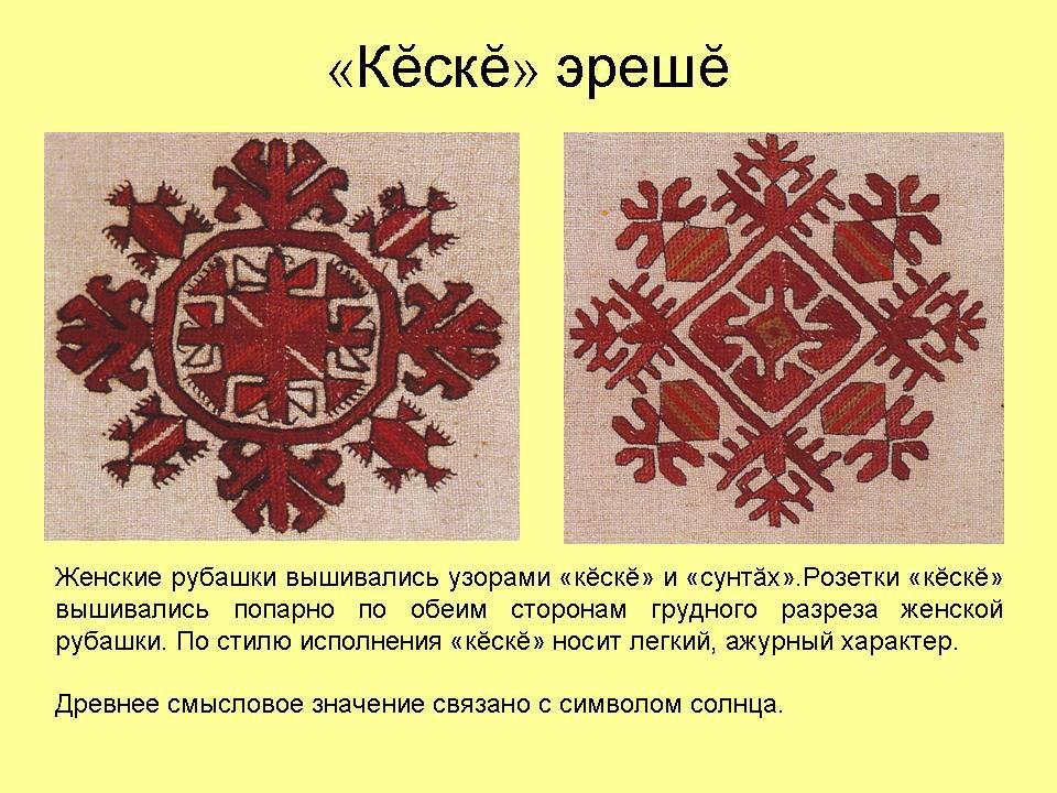 Удивительная чувашская вышивка
