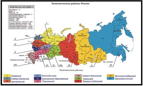 Задание: На территории России