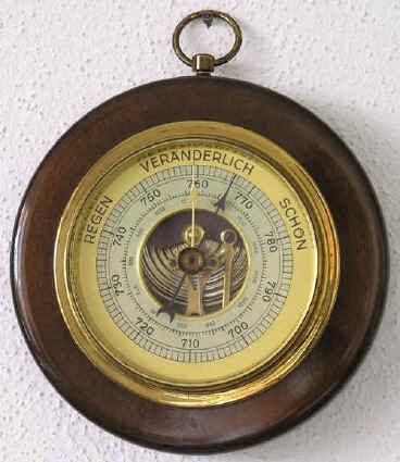 Атмосферное давление измеряется