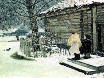 сочинение первый снег класс