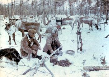 Картинки людей севера зимой
